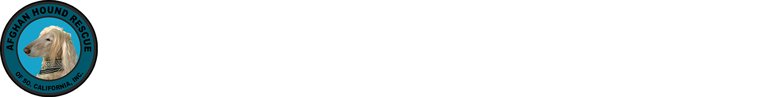 Afghan Hound Rescue of So. California, Inc. Logo